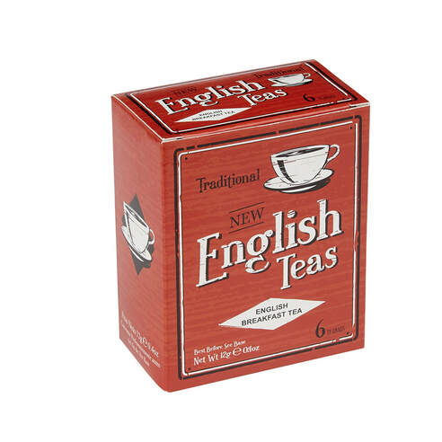 VC69 Vintage English Breakfast 6 Teabags
